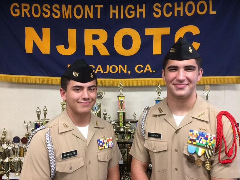2018 Cadet Flaherty (left) and Cadet Ghosn (right)