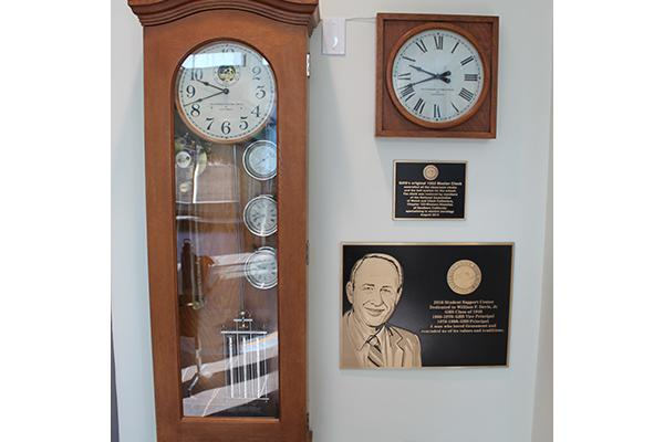 1922 Clock And Davis Plaque